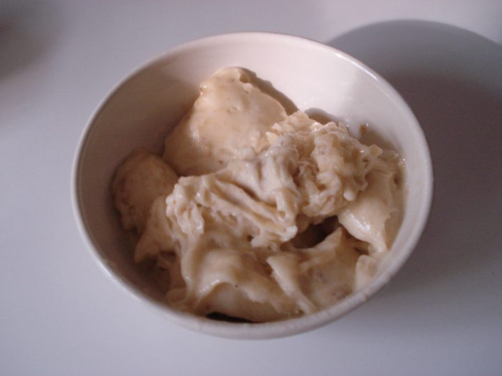 The One Ingredient Banana Ice Cream