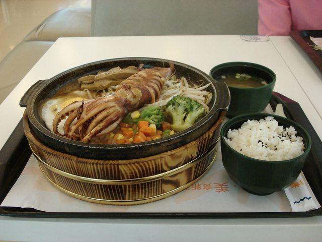 squid lunch taiwan restaurant