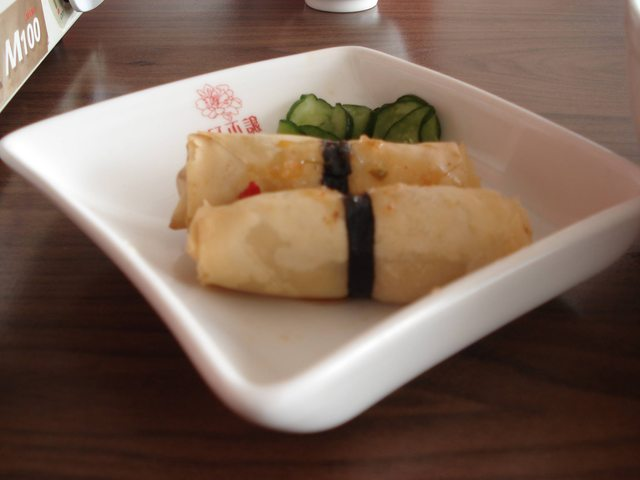 Stinky Tofu Spring Rolls from Kaohsiung, Taiwan