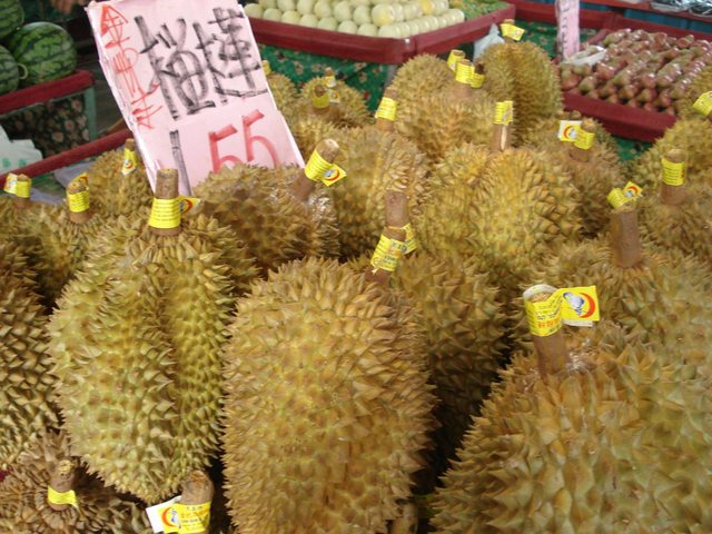 Durians from Taiwan