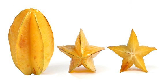 Why a starfruit is called a star....fruit.