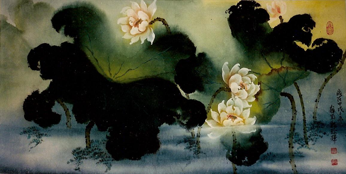 Lotus by 魏珍輝 (Wei Chen Hui)