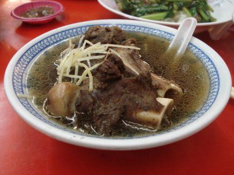 Taiwanese Goat Dinner in Taiwanese Night Market