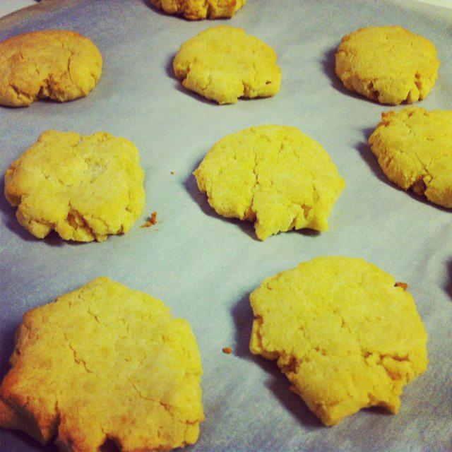 Paleo Vanilla Coconut Cookies