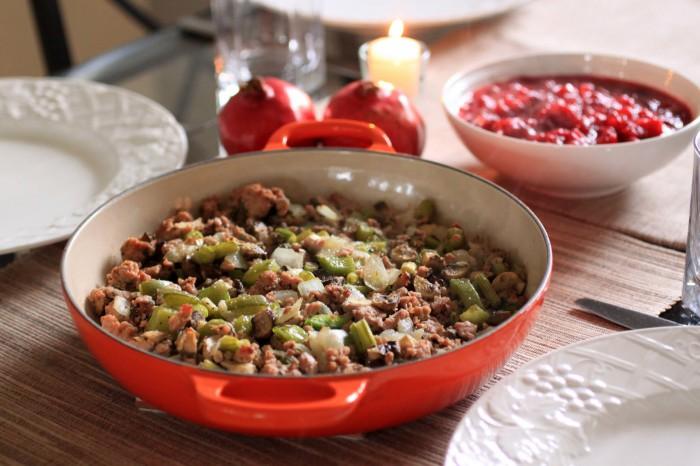 Thanksgiving or Christmas Paleo Stuffing