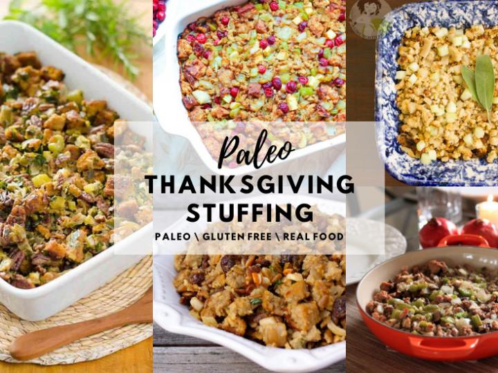 Paleo Thanksgiving Stuffing Recipes