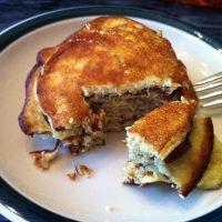 A Paleo Breakfast: 2-Ingredient Pancakes