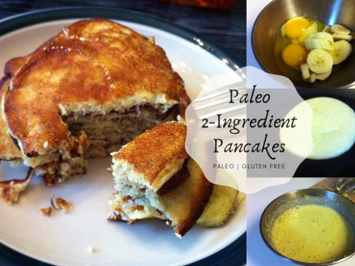 Paleo 2 Ingredient Pancakes!