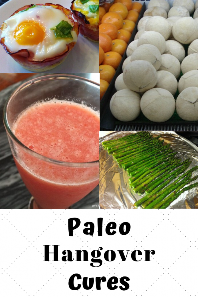 paleo hangover cures