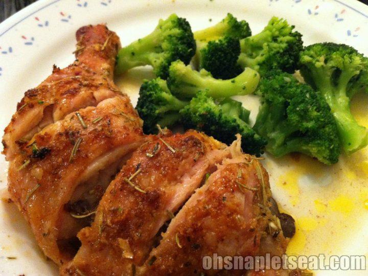Easy Spice Baked Chicken Leg Quarters