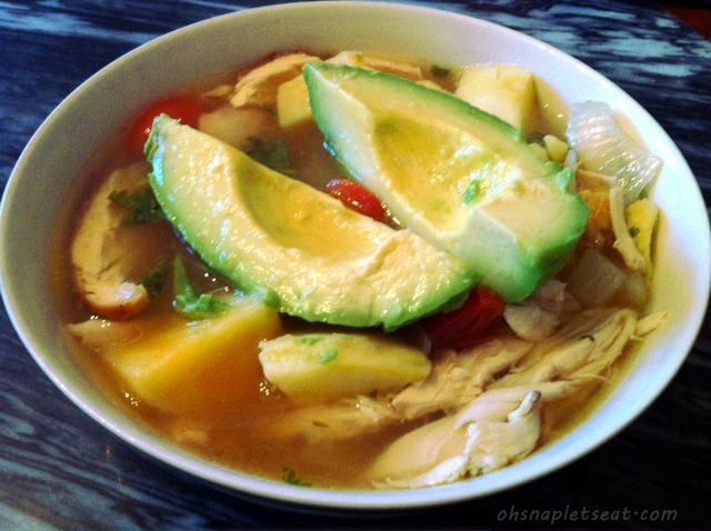 Finished Product:  Mexican Chicken Soup
