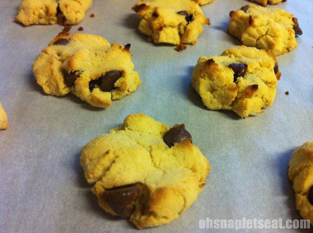 Gluten-free Paleo Chocolate Chip Cookies