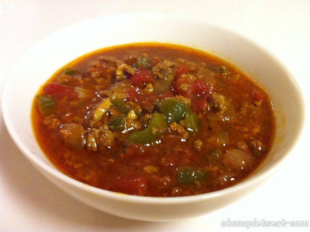 Slow Cooker Paleo Chili without Chili Powder!
