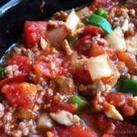 Spicy Paleo Slow Cooker Chili (Chili Powder Free Option)