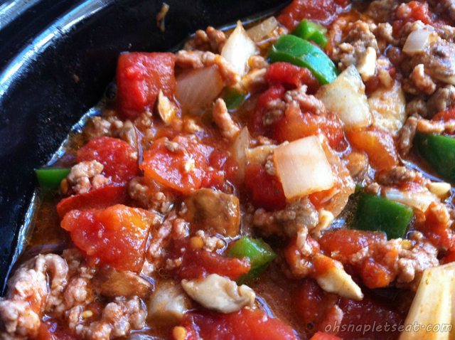 Spicy Paleo Slow Cooker Chili