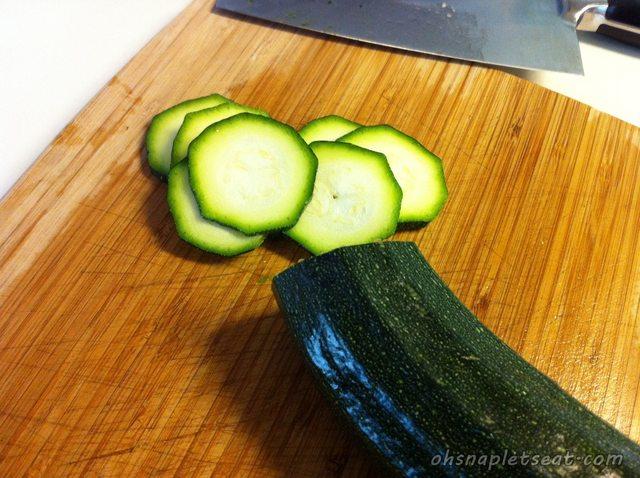 Slicing Zucchinis