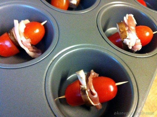 Baking Tomato Bites