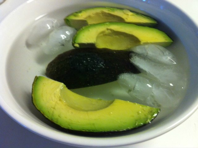 Keeping avocados from browning!