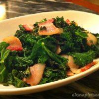Chunky Bacon and Kale Stir Fry