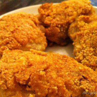 Paleo Fried Chicken (Pan Fried, Keto, Gluten Free)