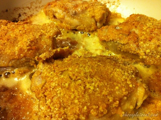 Almond Flour Fried Chicken