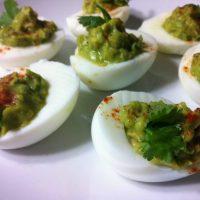 Paleo and Healthy Avocado Deviled Eggs