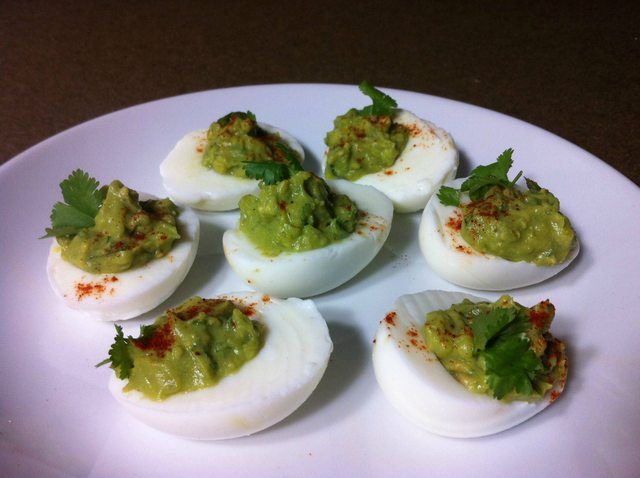Healthy Deviled Eggs!