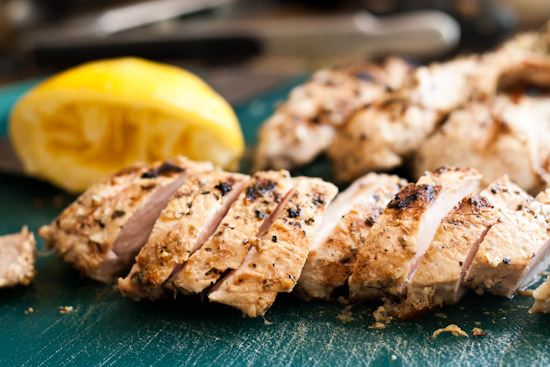 Perfect, Versatile, Grilled Lemon Chicken