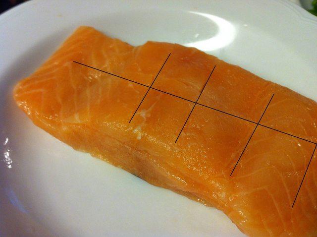 Pan Fried Honey Teriyaki Salmon Fillet
