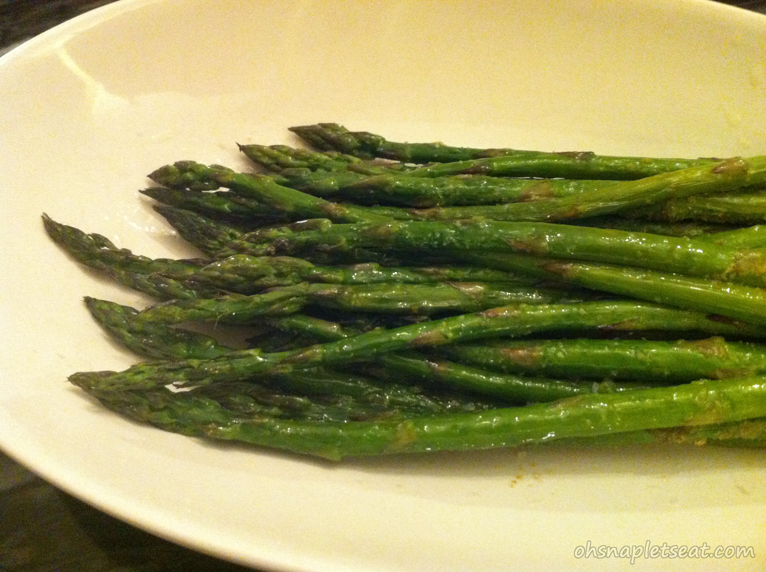 Simple Oven Roasted Asparagus | Oh Snap! Let's Eat!