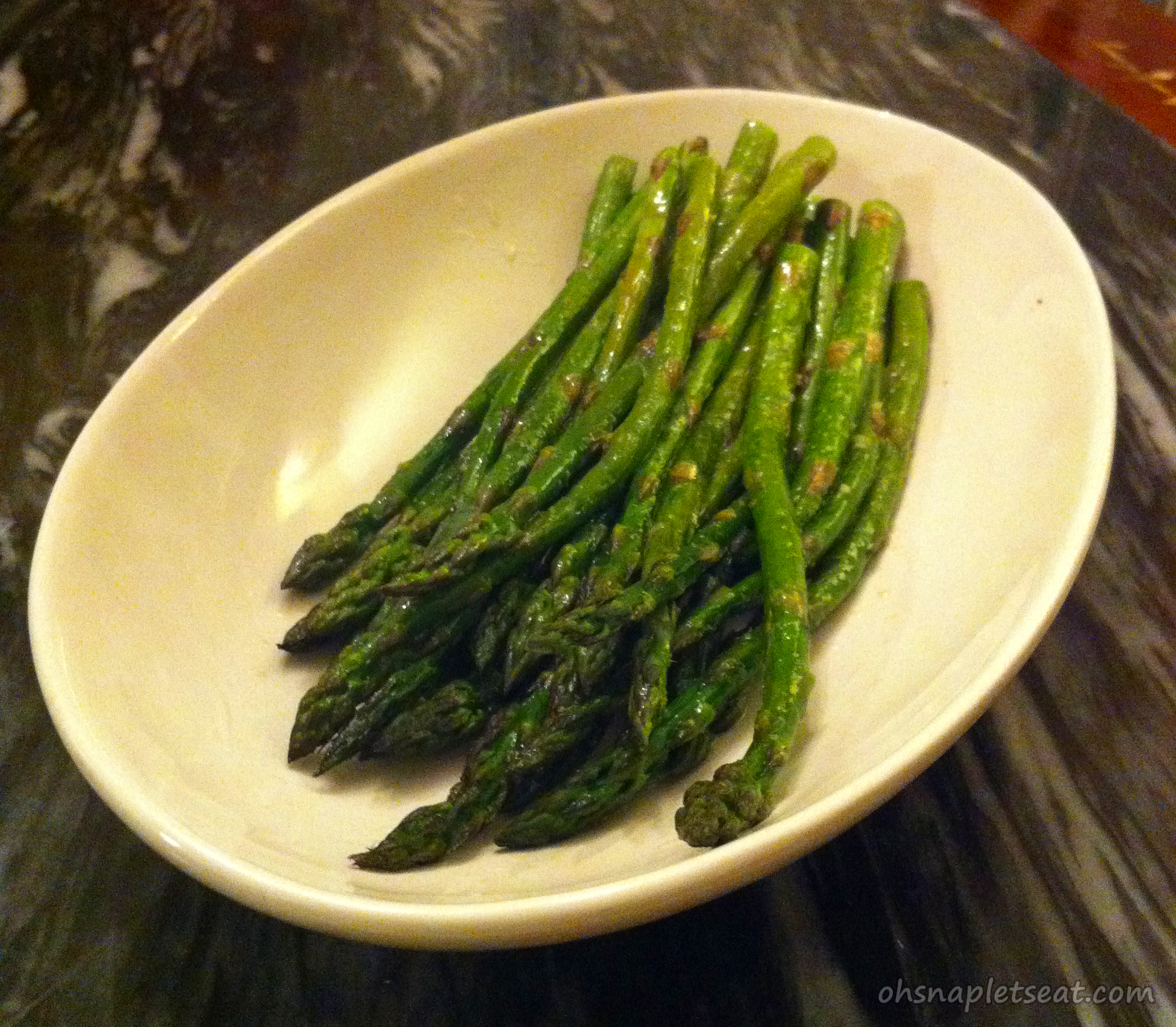 Simple Oven Roasted Asparagus