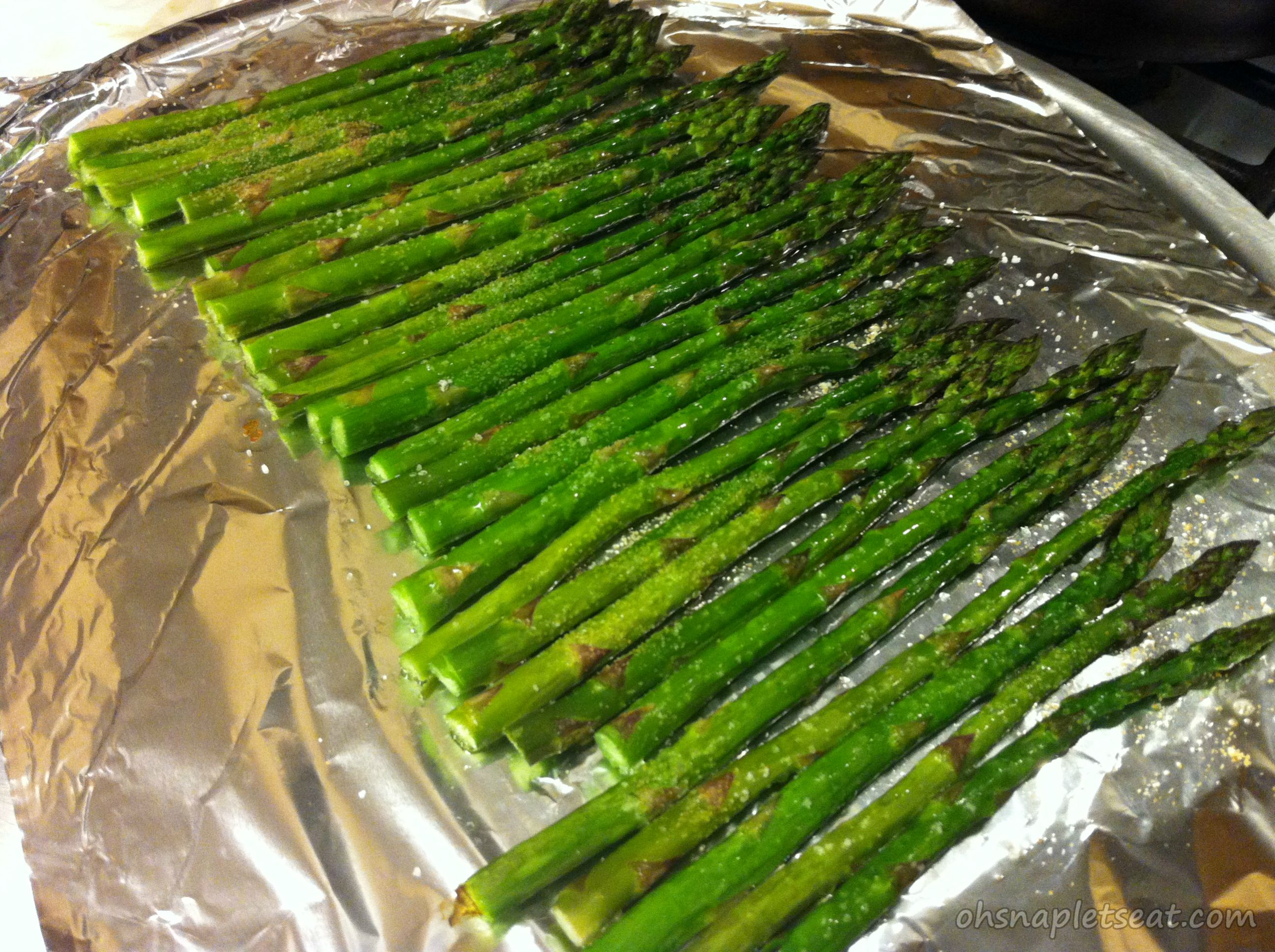 Simple Oven Roasted Asparagus - Oh Snap! Let's Eat!