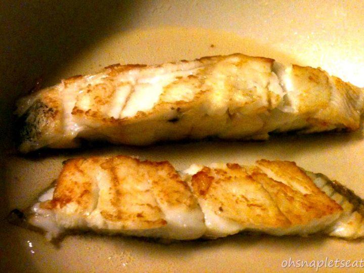 Gluten Free Pan Seared Cod