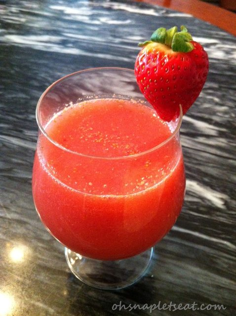 Strawberry Coconut Water Smoothie