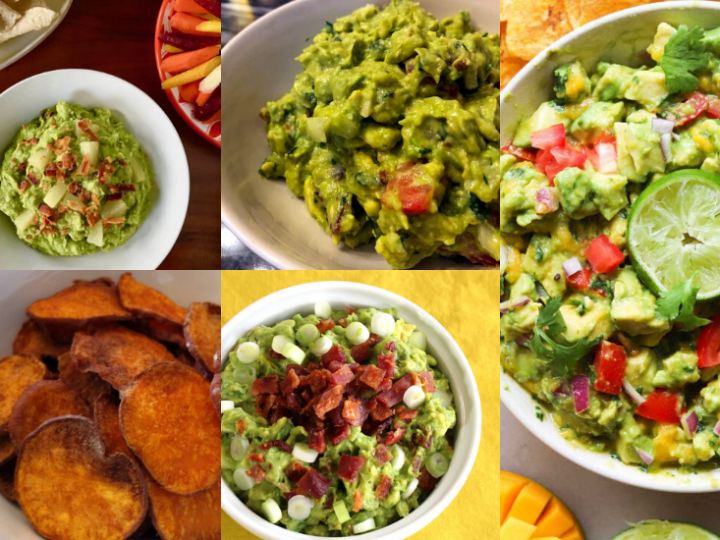 Paleo Guacamole Recipes and Chips to go with them!