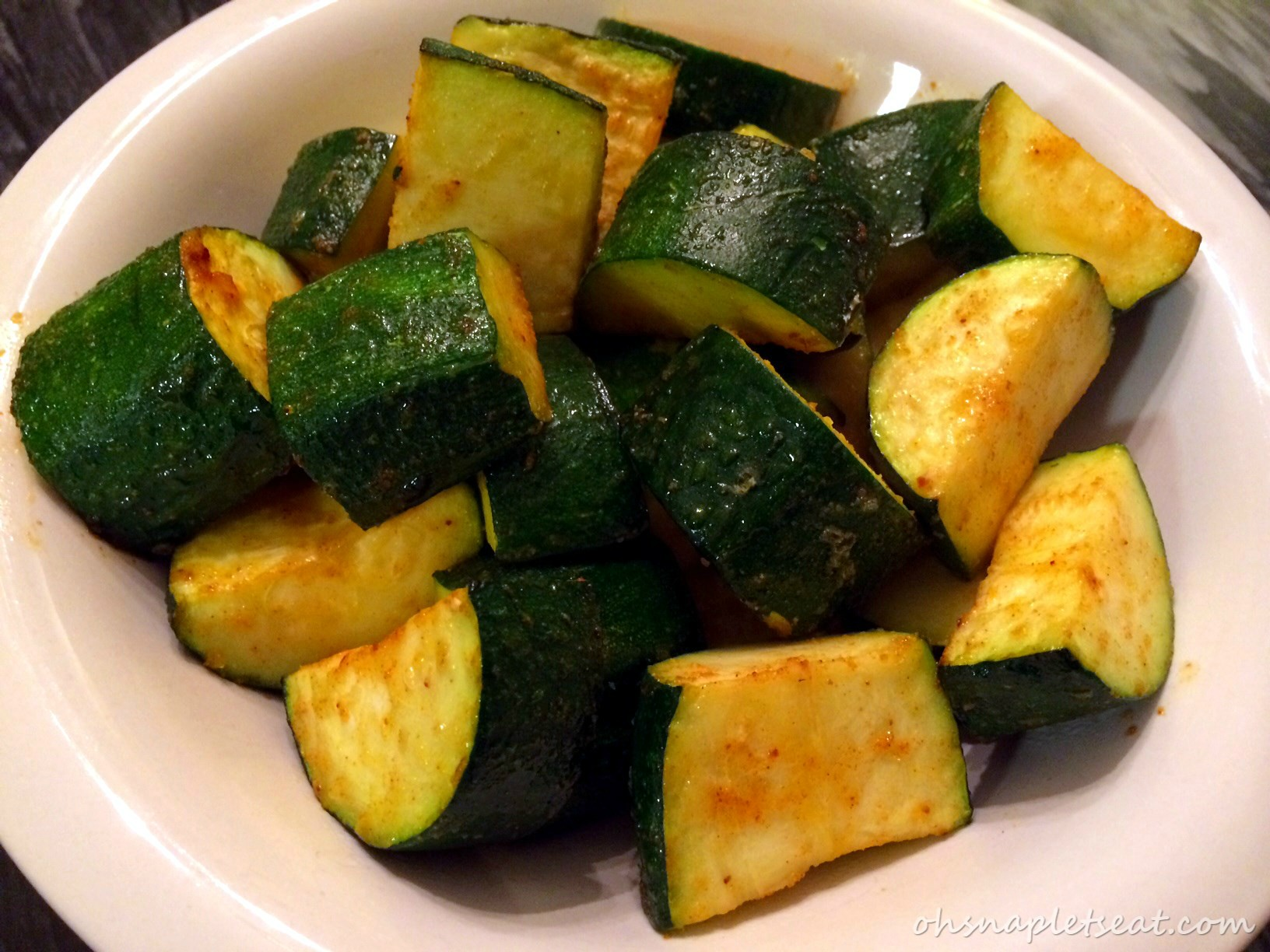Simple oven baked zucchini oh snap lets eat forumfinder Gallery