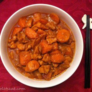Easy Paleo Coconut Milk Curry Chicken