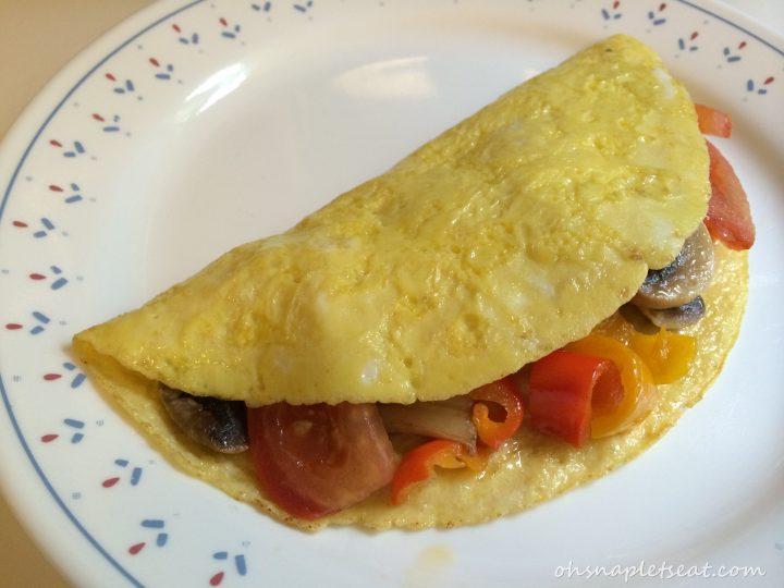 Easy Paleo Omelette with Summer Vegetables