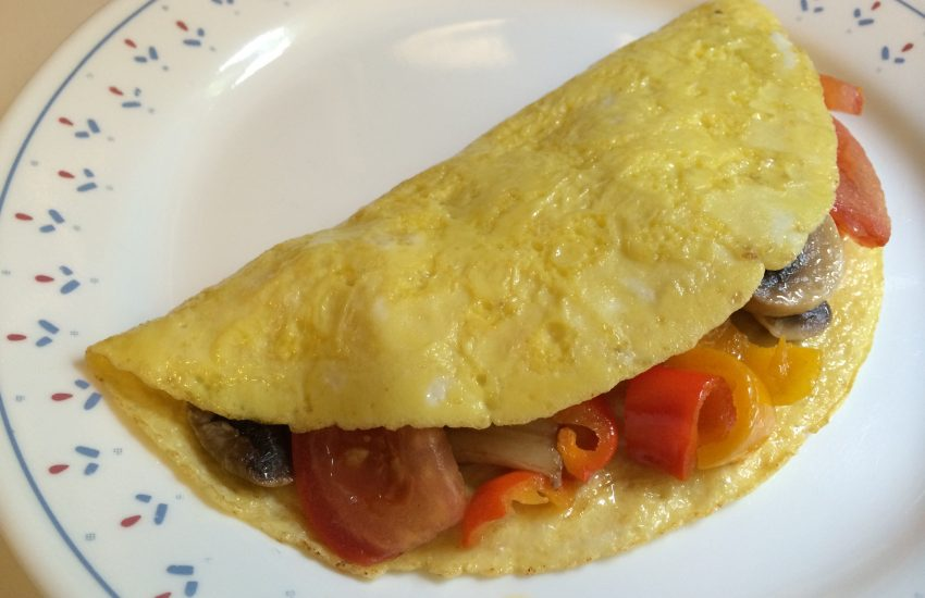 Easy Paleo Omelette with Summer Vegetables