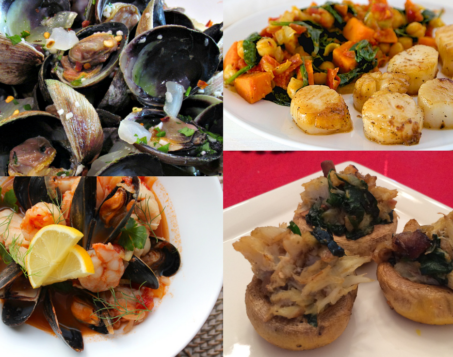 Paleo Scallops, Crabs, Clams, and More