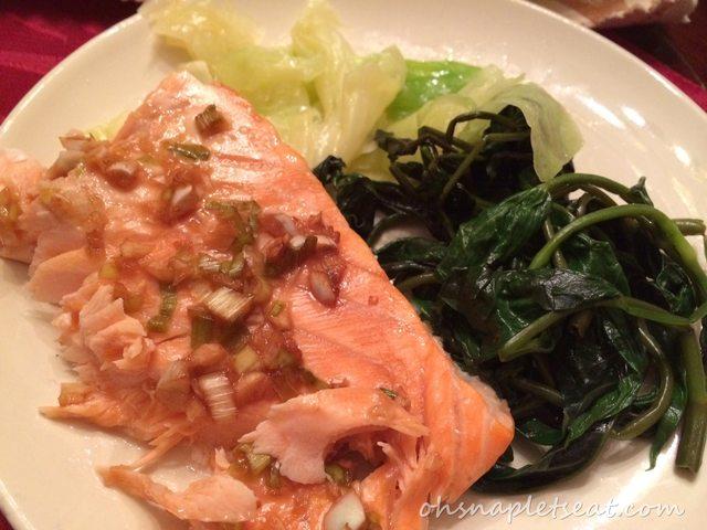 Asian Style Oven Baked Salmon