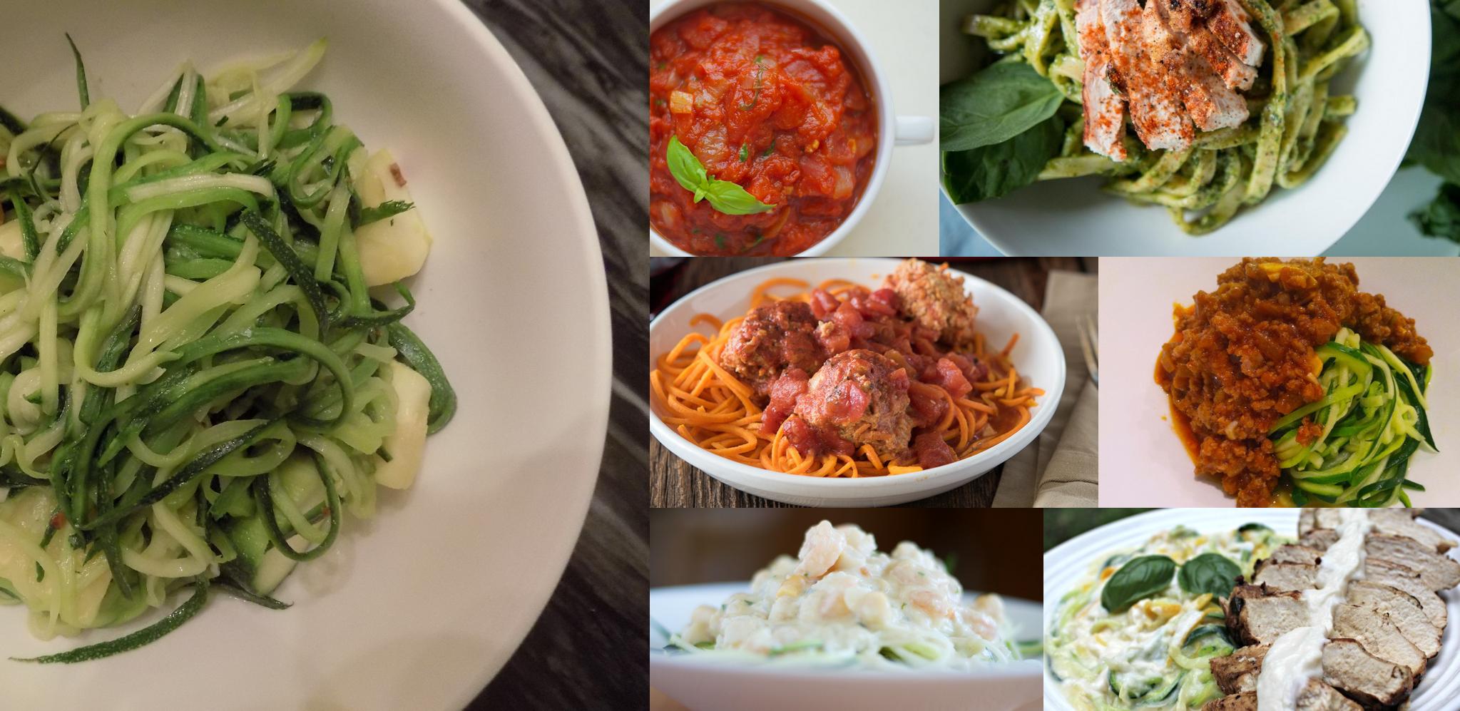 zucchini and sauce