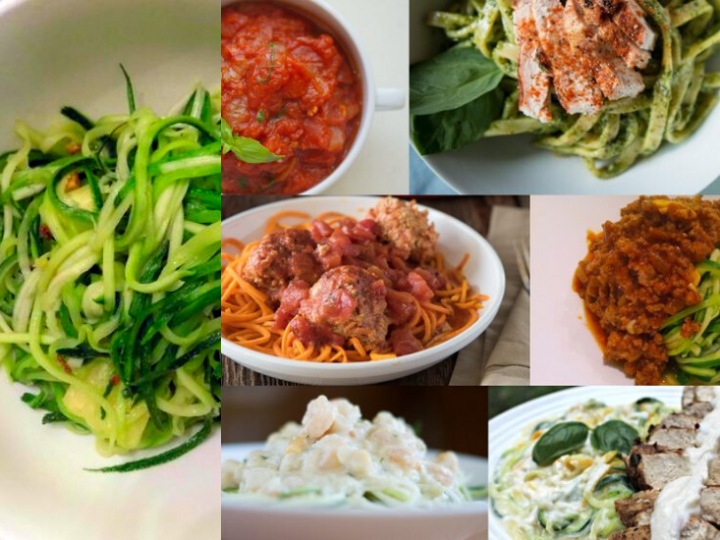 Zucchini Noodles and Paleo Sauces To Go With It!