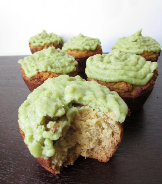 St Patricks Day Paleo Cupcakes