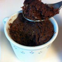 Paleo Chocolate Cake in a Mug
