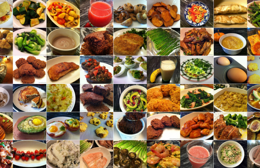 OSLE food collage