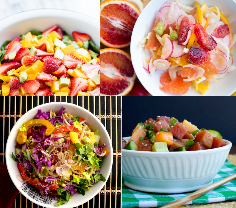 summer paleo salads