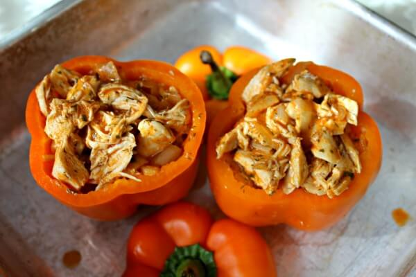 Buffalo Ranch Stuffed Peppers From Primally Inspired