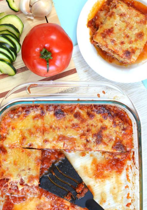 Paleo Italian Recipes - Low-Carb Zucchini Lasagna