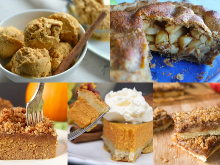 55+ Paleo Thanksgiving Desserts!